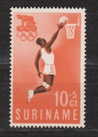 Suriname 350 MNH ; Basketbal, Baseball, Basket, 1960 - Baloncesto