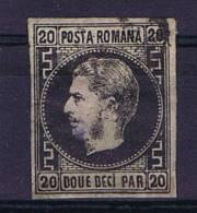 Romania: Mi Nr 16 X  Used - 1858-1880 Moldavië & Prinsdom