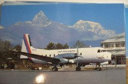 HS 748     ROYAL NEPAL    9N AAV - 1946-....: Moderne