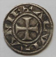Aquitaine ANGLO GALLIC Aliénor Denier DVCISIT , RARE ! - 476-1789 Monnaies Seigneuriales