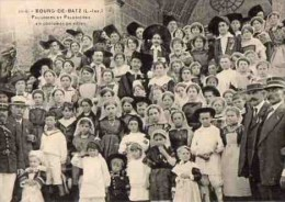 44 BOURG-DE-BATZ - 3710 - Paludiers Et Paludières En Costumes De Fêtes - Batz-sur-Mer (Bourg De B.)