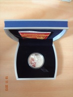 Belarus 2007 Alena Aladava. The 100th Anniversary 10 Rubles Silver Coin UNC With Certificate And Box - Belarus