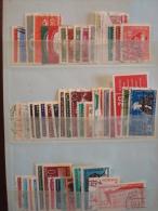 ALLEMAGNE ORIENTALE . DDR . ANNEE 1958 (n°336 à 387) Oblitérés ; Partiel - Usati