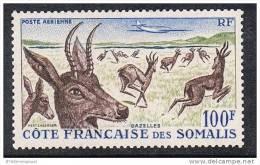 COTE DES SOMALIS AERIEN N°26 N* - Côte Française Des Somalis (1894-1967)