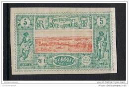 COTE DES SOMALIS N°9 N* - Côte Française Des Somalis (1894-1967)
