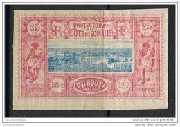 COTE DES SOMALIS N°12 N* - Côte Française Des Somalis (1894-1967)