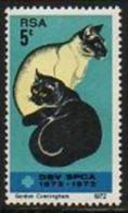South Africa (RSA) - 1972 Cats-Katzen-Chats-Gatti (Tierschutz-Protecion Animaux/Animal) ** - Zuid-Afrika (1961-...)