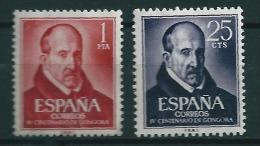 1961 .- Edifil Nº 1369-1370  (Serie Completa) - 1961-70 Nuevos & Fijasellos