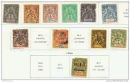 COTE-D´IVOIRE LOT DE CLASSIQUES  COTE +200 EUROS