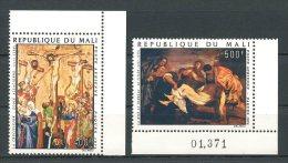 MALI 1974 PA N° 214/215 ** Neufs = MNH Superbes Cote 6,25 €  Peintures Paintings Pâques Le Titien Tableaux - Mali (1959-...)