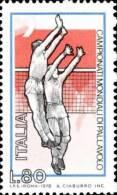 1978 Campionati Mondiali Maschili Di Pallavolo 80 Lire - Usato - Oblitered - 6. 1946-.. Repubblica