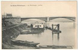 91 - RIS-ORANGIS - Le Port - La Seine Pittoresque 16 - Entrepôt Colas Vins Traiteur - Ris Orangis