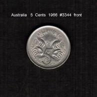 AUSTRALIA    5  CENTS  1966  (KM # 64) - Decimal Coinage (1966-...)