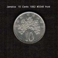 JAMAICA    10  CENTS  1982  (KM # 47) - Jamaica