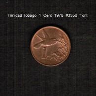 TRINIDAD & TOBAGO    1  CENT   1978  (KM # 29) - Trinidad & Tobago