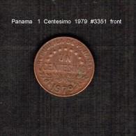PANAMA    1  CENTESIMO   1979  (KM # 22) - Panama