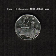 CUBA    10  CENTAVOS   1994  (KM # 576.1) - Cuba