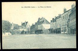 Cpa Du  36  La Chatre  La Place Du Marché   HRT5 - La Chatre
