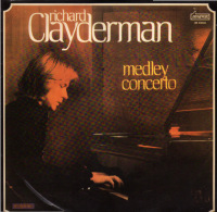 * LP *  RICHARD CLAYDERMAN - MEDLEY CONCERTO (Portugal 1978 EX-!!!) - Instrumental
