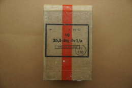 Boîte De 10 Cartouches Pour Lance Fusée Tchèque à 1 Illumination. - Equipment