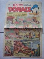 HARDI PRESENTE DONALD (n° 29, Dimanche 5 Octobre 1947) : Tarzan, Pim! Pam! Poum!, Luc Bradefer, Guy L´ Eclair, Mandrake - Donald Duck