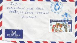 Guinea 1993 Conakry World Cup Football Soccer USA 400f Cover - Guinee (1958-...)