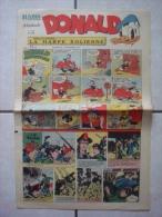 HARDI PRESENTE DONALD (n° 232, Dimanche 2 Septembre 1951) : Dick, Mandrake, Luc Bradefer, Pim! Pam! Poum!, Bob Riley... - Donald Duck