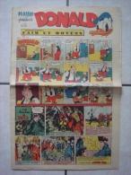 HARDI PRESENTE DONALD (n° 233, Dimanche 9 Septembre 1951) : Dick, Mandrake, Luc Bradefer, Bob Riley, Pim! Pam! Poum!... - Donald Duck
