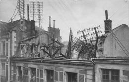 ¤¤  -   POITIERS    -  Carte Photo  -  Incendie , Pompier  -  Photographe J-B Raymond  -  ¤¤ - Poitiers