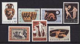 GREECE 1964 Hellas#979-85 Olympic Games, Tokyo ´64, Complete Set MNH XF - Summer 1964: Tokyo