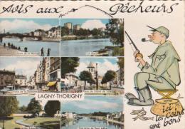 1 Cpsm Lagny Thorigny - Autres Communes