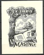 Estland Estonia Estonie Ex Libris VIKTOR MASING - Bookplates