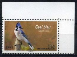 SAINT PIERRE ET MIQUELON  0,47 €  Multicolore**  Geai Bleu - St.Pierre & Miquelon