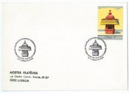 Portugal - Tivoli Traditional Lisbon Kiosk - Newstand - Lisboa  - Maluda Stamp - Banco Fonsecas E Burnay - Andere