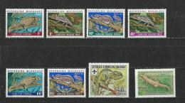 Madagascar: 791 + 846 + 523/ 528 **   Reptiles - Non Classificati