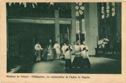 PHILLIPPINES LA CONSECRATION DE L'EGLISE DE BAGUIO MISSIONS DE SCHEUT - Filippine
