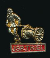PIN'S : JSP TRIEL, Jeunes Sapeurs Pompiers Triel (Yvelines) - Pompiers