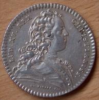 Jeton Argent Louis XV ETATS DU LANGUEDOC 1728 Préliminaires De Paix Du Traité De Séville - Monarchia / Nobiltà