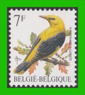 BUZIN - 2476** Loriot / Wielewaal - FLUOR (groene Gom Verte) - 1985-.. Birds (Buzin)