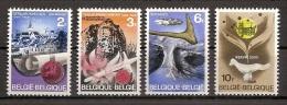 Belgien 1968, Nr. 1503-1506, Geschichte Und Vorgeschichte Postfrisch Mnh ** - Nuevos