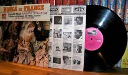 33 TOURS VINYLE NEUF 1980 ENSEMBLE VOCAL JEANNINE DE WALEYNE MUSICUM DE PARIS ROLAND DOUATTE NOEL DE FRANCE DISQUE VOGUE - Religion & Gospel