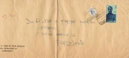 6497. Carta Certificada TARRAGONA 1960. Mutualidad Postal - 1931-Hoy: 2ª República - ... Juan Carlos I