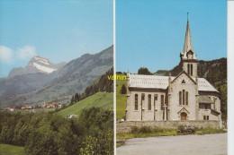 Praz Sur Arly Vue Generale Eglise - Sonstige Gemeinden