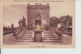 Sanctuaire De Notre Dame De Pitié La Chapelle St Laurent Le Calvaire  L Entrée - France
