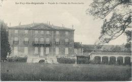 LE PUY SAINTE-REPARADE (Bouches-du-Rhône): Façade Du Château De Fonscolombe - Autres Communes