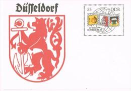 6507. Entero Postal Alemania DDR 1990. Dusseldorf - [6] República Democrática