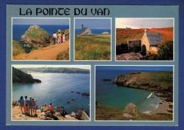 29 CLEDEN-CAP-SIZUN Pointe Du Van, Rocher De Morgane, Chapelle Et Fontaine Saint They, Plage, Cale De Vorlenn 5 Vues - Cléden-Cap-Sizun