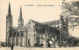 NIMES EGLISE SAINT BAUDILE - Nîmes
