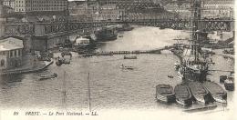 Finistère : Brest, Le Pont National - Brest