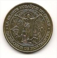 Médaille     Sacré-Coeur De Montmartre  ;  La Grande Mosaïque Du Choeur  -  2004 - TTB -  Monnaie De Paris - Monnaie De Paris